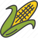 colored, corn, holidays, thanksgiving, vegetables icon