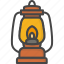 colored, holidays, lantern, thanksgiving icon