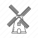dutch, dutch windmill, thanksgiving, wind, wind mill, wind turbine, windmill icon