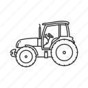 big tractor, farm, farm tractor, farming, john deer, thanksgiving, tractor icon