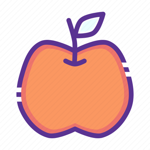 apple, fruit, thanksgiving icon