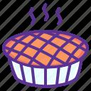 cake, cranberry, dessert, pie, pumpkin, thanksgiving, hygge
