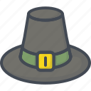 day, hat, holiday, thanksgiving icon