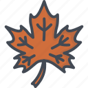 canada, day, holiday, leaf, maple, thanksgiving icon