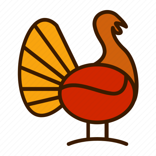 holiday, thanksgiving, turkey icon