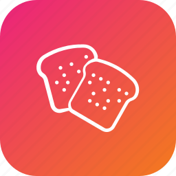 bakery, bread, food, thanksgiving icon