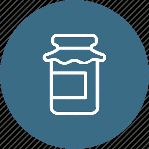 bottle, jar, sweet, thanksgiving icon