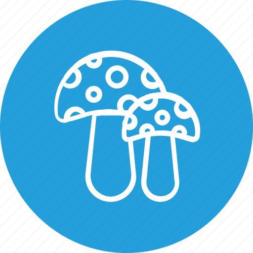 food, mushroom, thanksgiving icon