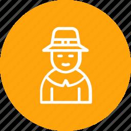 avatar, boythanksgiving, man, pilgrim icon