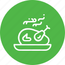 chicken, dinner, food, party, roast, tandoor, turkey icon