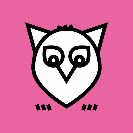 halloween, night, owl, thanksgiving icon
