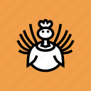 turkey, bird, thanksgiving icon