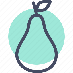 fruit, pear, thanksgiving icon