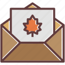 card, greeting, greetings, mail, thanksgiving, wishes icon
