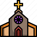 architecture, building, catholic, church, cross, culture, religion icon