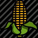 autumn, corn, fall, harvest, vegetable icon