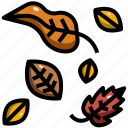 autumn, fall, garden, hey leaves, leaf, nature, season icon