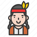 avatar, native, native american, thanksgiving icon