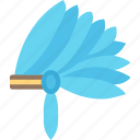 head, thanksgiving, dinner, native, holiday, dress, clothes icon