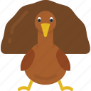 food, turkey, dinner, holiday, thanksgiving icon