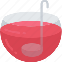 dinner, holiday, punch, drink, thanksgiving icon