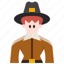 avatar, character, costume, farming, man, thanksgiving, user icon