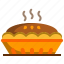 bakery, dessert, food, pie icon