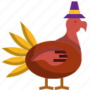 animal, chicken, farming, thanksgiving, turkey icon