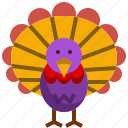 animal, chicken, farming, thasnkgiving, turkey icon