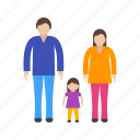 family, people, thanksgiving, parents, happy, christmas, celebration icon