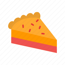 cream, food, fresh, pie, pumpkin, slice, thanksgiving icon