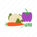 healthy, vegetarian, thanksgiving, cucumber, cabbage, vegetables, ingredient icon