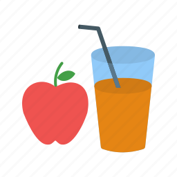 apple, beverage, cider, drink, glass, healthy, thanksgiving icon