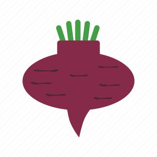 beetroot, food, fresh, green, organic, root, vegetarian icon