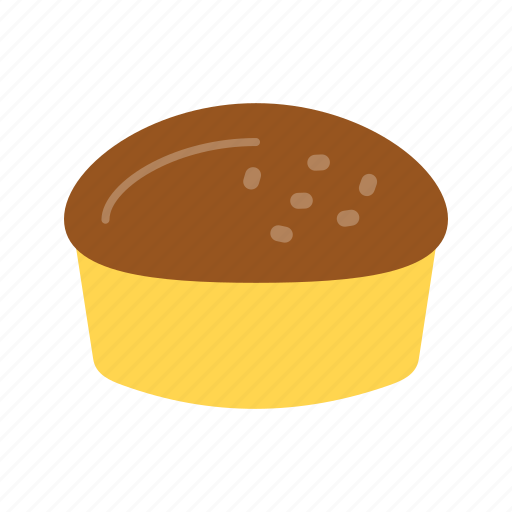baked, food, fresh, meal, sconebread, sweet, yellow icon