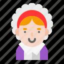 avatar, costume, pilgrim, thanksgiving icon