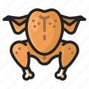 chicken, cooking, eating, food, meal, thanksgiving, turkey icon