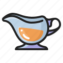 boat, cooking, eating, food, gravy, sauce, thanksgiving icon