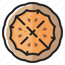 cooking, eating, food, pie, pizza, tasty, thanksgiving icon