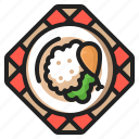 chicken, cooking, eating, food, restaurant, thanksgiving, turkey icon