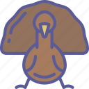 dinner, food, holiday, thanksgiving, turkey icon