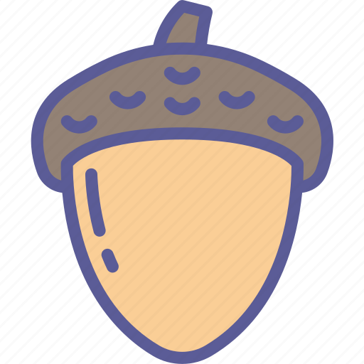 Acorn, dinner, holiday, thanksgiving, tree icon - Download on Iconfinder