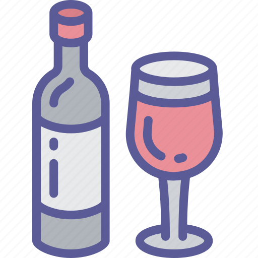 Dinner, drink, holiday, thanksgiving, wine icon - Download on Iconfinder