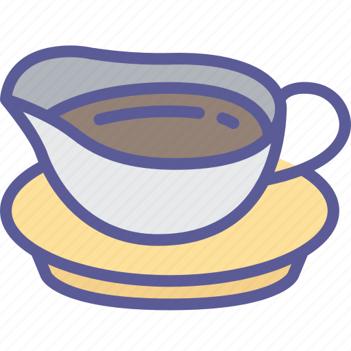 Dinner, food, gravy, holiday, thanksgiving icon - Download on Iconfinder