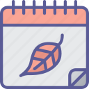 autumn, calendar, day, dinner, holiday, thanksgiving icon