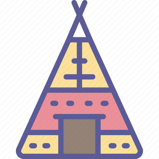 Dinner, holiday, tent, thanksgiving, tipi icon - Download on Iconfinder