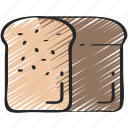 bread, dinner, food, holiday, loaf, thanksgiving icon