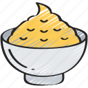 dinner, food, holiday, mashed, potato, thanksgiving icon