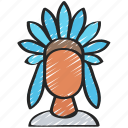 american, dinner, heritage, holiday, native, thanksgiving icon