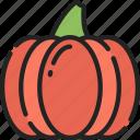 dinner, food, holiday, pumpkin, thanksgiving icon